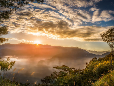 The dawn of Alishan